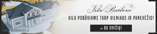 Vila Barbora vestuvėms