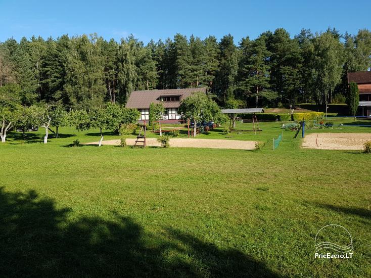 Bertašiūnų Vienkiemis prie Trikojo ežero: salė, pirtis, pramogos - 2