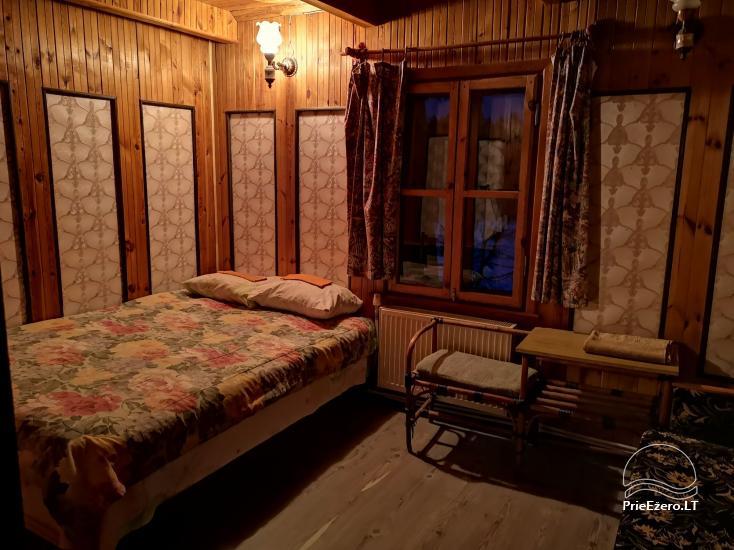 Bertašiūnų Vienkiemis prie Trikojo ežero: salė, pirtis, pramogos - 17