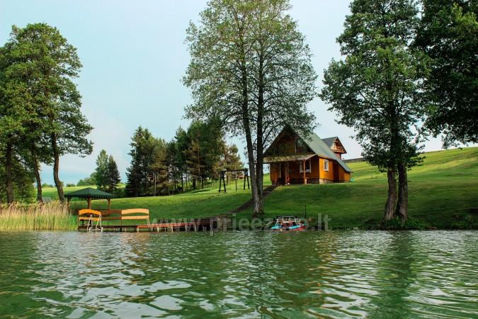 Sodyba Trakų rajone prie Vilkokšnio ežero Vilkokšnio krantas - 3