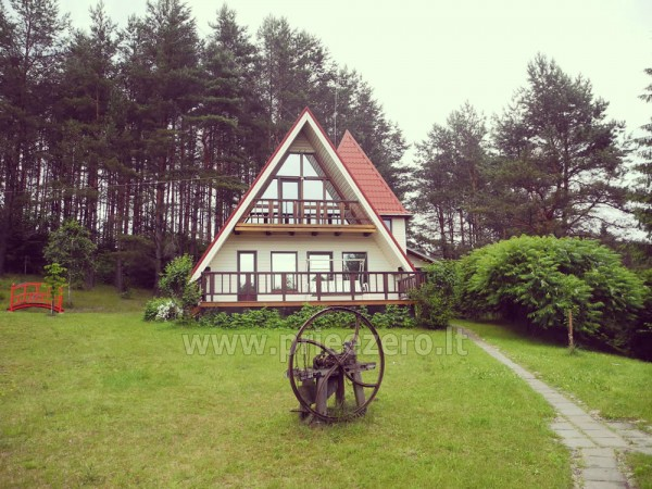 Sodyba Namelis Trakų rajone prie Vilkokšnio ežero - 1
