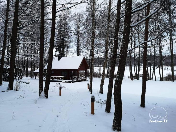 Nikronio sodyba prie Sieniaus ežero: pokylių salė, pirtis, žūklė, pramogos - 23