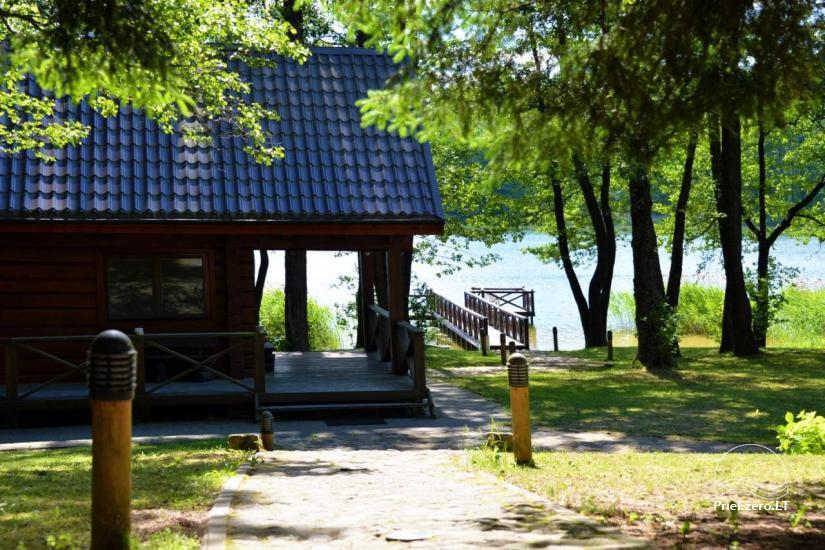Nikronio sodyba prie Sieniaus ežero: pokylių salė, pirtis, žūklė, pramogos - 1