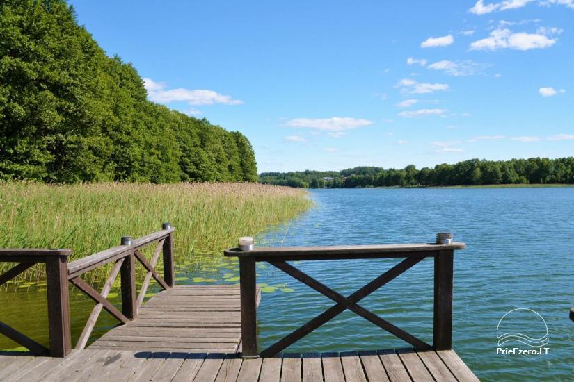 Nikronio sodyba prie Sieniaus ežero: pokylių salė, pirtis, žūklė, pramogos - 5
