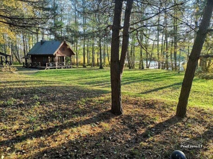 Nikronio sodyba prie Sieniaus ežero: pokylių salė, pirtis, žūklė, pramogos - 26
