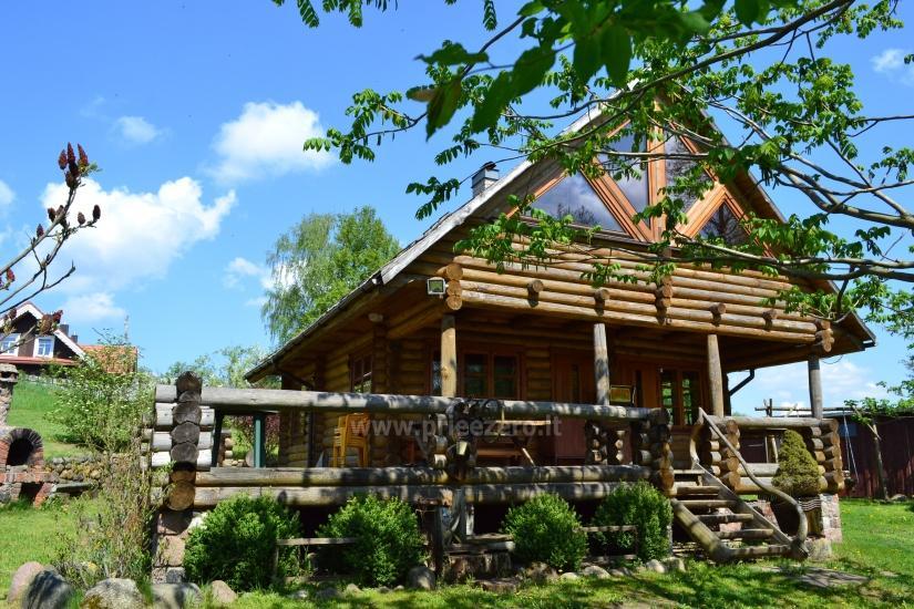 Naujos sodybos Saulėtas Bebras nuoma poilsiui, renginiams, vestuvėms prie Trakų - 9