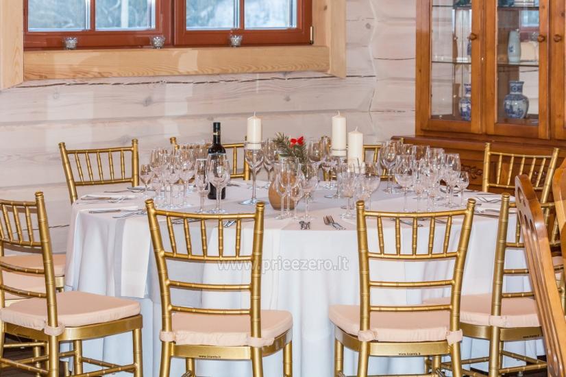 Naujos sodybos Saulėtas Bebras nuoma poilsiui, renginiams, vestuvėms prie Trakų - 14