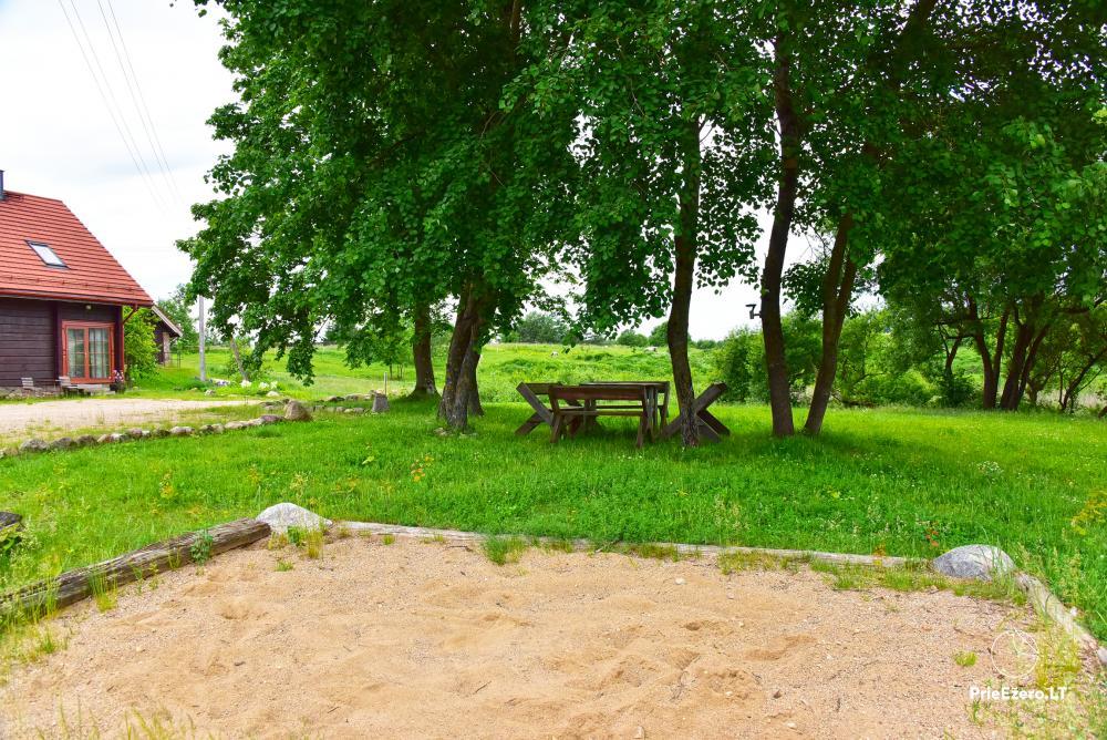 Naujos sodybos Saulėtas Bebras nuoma poilsiui, renginiams, vestuvėms prie Trakų - 7