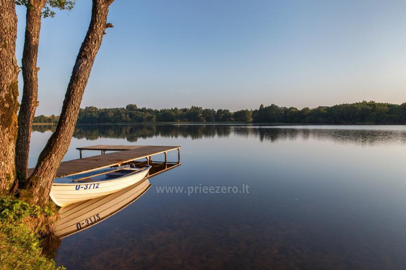 Gilužio sodyba Molėtų rajone prie ežero - 11