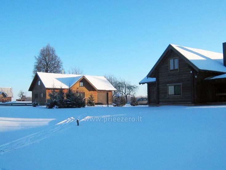 Sodyba Olandų Kaimelis - rąstiniai nameliai ir vilos - poilsis su šeima ir draugais - 4