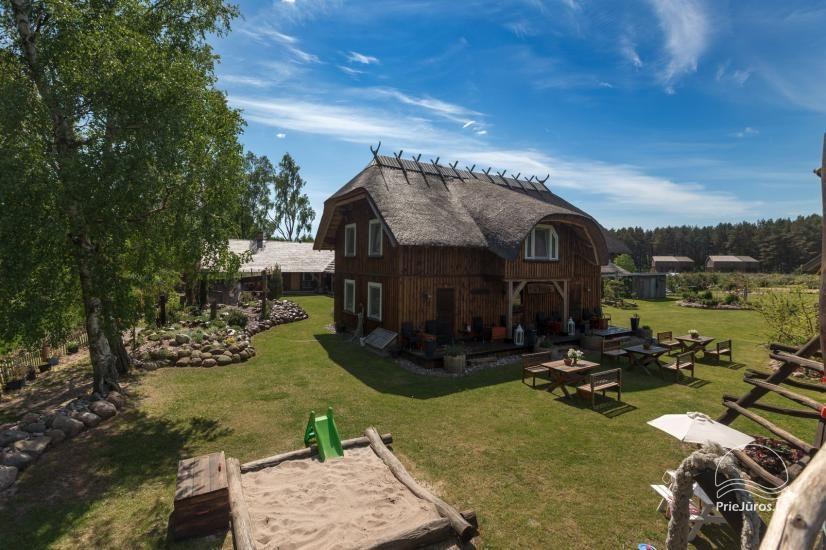 Svečių namai Papėje Jurgi tarp Baltijos jūros ir Papės ežero - 9