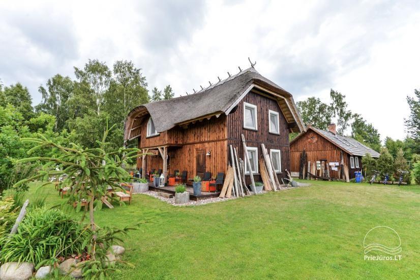 Svečių namai Papėje Jurgi tarp Baltijos jūros ir Papės ežero - 11