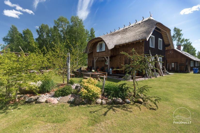 Svečių namai Papėje Jurgi tarp Baltijos jūros ir Papės ežero - 12