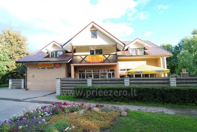 Jaukus viešbutis su pirtimi, baseinu ir pokylių sale 35 žm. Vėžaičiuose - 2