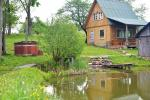 """Sodyba """"Senovinė dūminė pirtis"""" Trakų rajone prie Vilkokšnio ežero, baidarės - 3"""