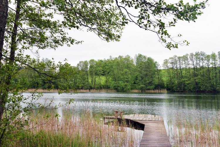 """Sodyba """"Senovinė dūminė pirtis"""" Trakų rajone prie Vilkokšnio ežero, baidarės - 11"""