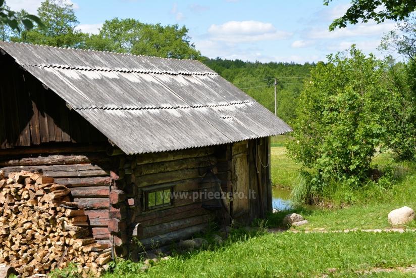 """Sodyba """"Senovinė dūminė pirtis"""" Trakų rajone prie Vilkokšnio ežero, baidarės - 9"""