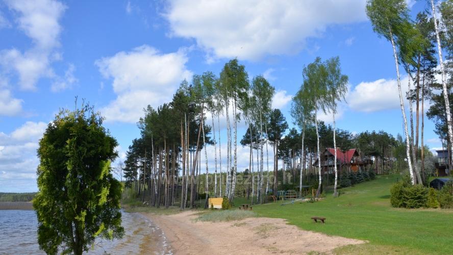 Apartamentai, kambariai, nameliai, kempingas Paežerės Papartis Molėtų rajone prie Bebrusų ežero - 24