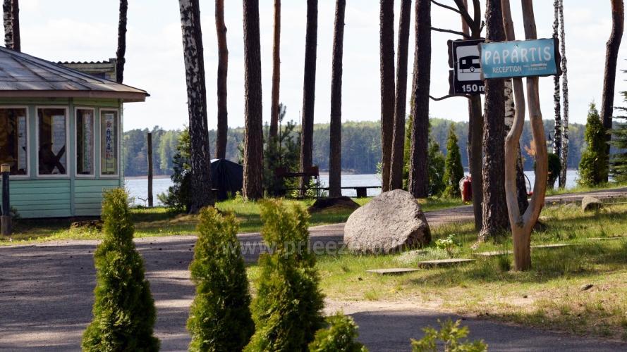 Apartamentai, kambariai, nameliai, kempingas Paežerės Papartis Molėtų rajone prie Bebrusų ežero - 3