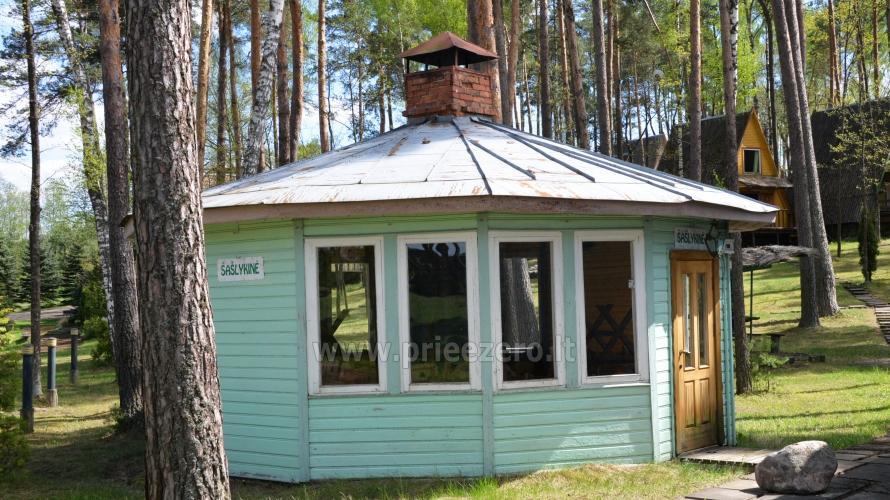 Apartamentai, kambariai, nameliai, kempingas Paežerės Papartis Molėtų rajone prie Bebrusų ežero - 82