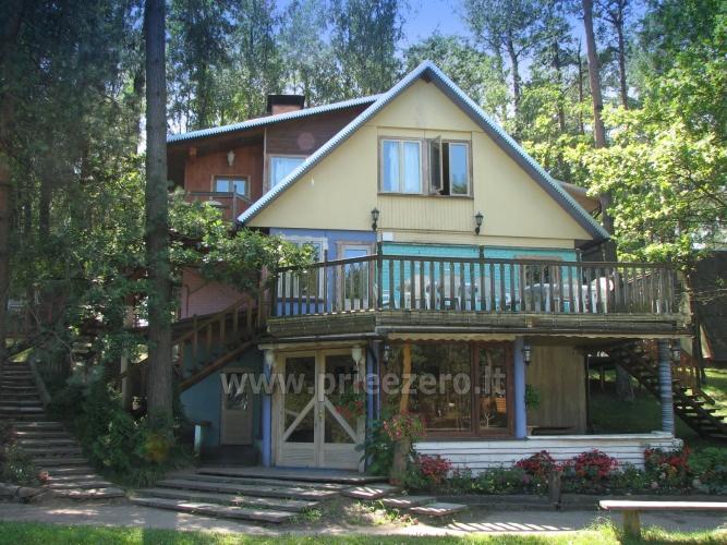 Apartamentai, kambariai, nameliai, kempingas Paežerės Papartis Molėtų rajone prie Bebrusų ežero - 84