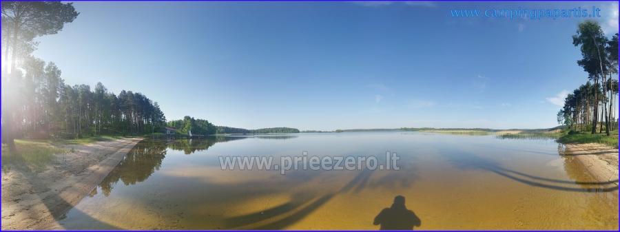 Apartamentai, kambariai, nameliai, kempingas Paežerės Papartis Molėtų rajone prie Bebrusų ežero - 20
