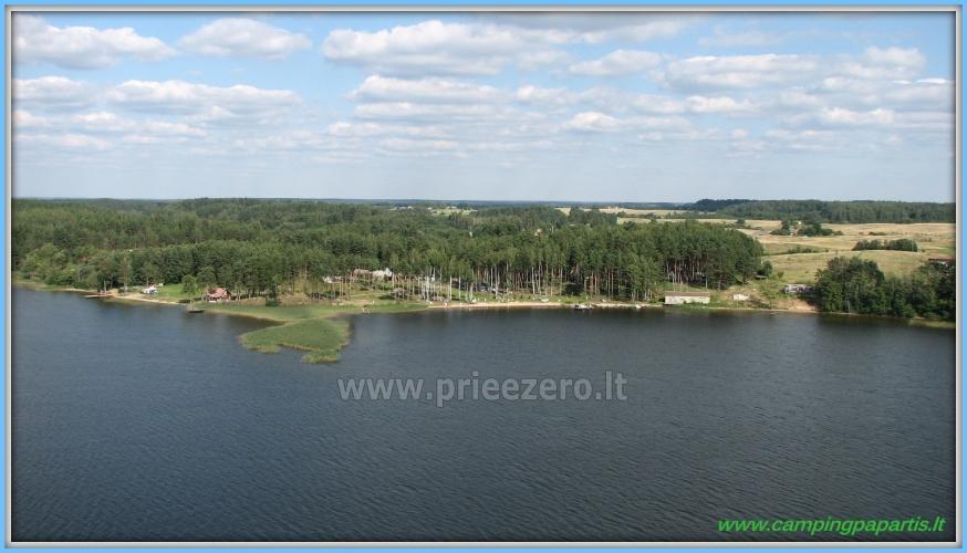 Apartamentai, kambariai, nameliai, kempingas Paežerės Papartis Molėtų rajone prie Bebrusų ežero - 14