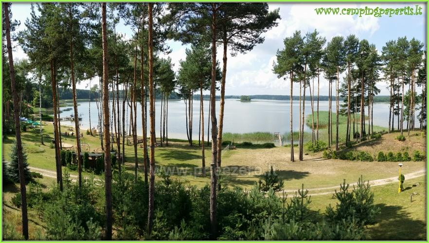 Apartamentai, kambariai, nameliai, kempingas Paežerės Papartis Molėtų rajone prie Bebrusų ežero - 17