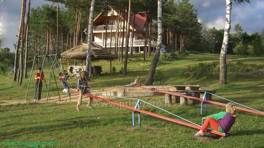 Apartamentai, kambariai, nameliai, kempingas Paežerės Papartis Molėtų rajone prie Bebrusų ežero - 4