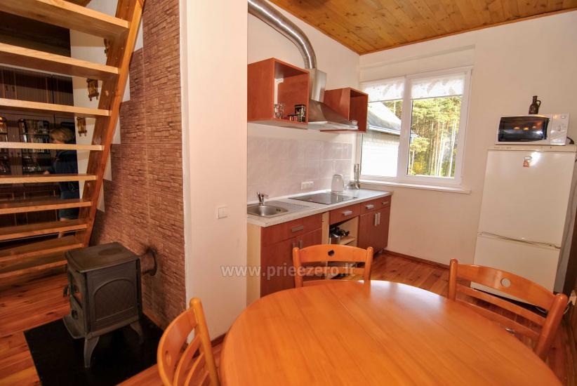 Erdvus 1 kamb. butas su balkonu ramioje vietoje, Druskininkų pušynėlyje - 5
