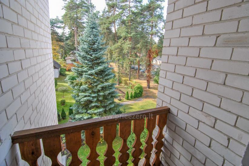 Erdvus 1 kamb. butas su balkonu ramioje vietoje, Druskininkų pušynėlyje - 8