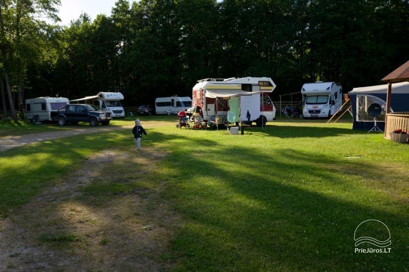 Turistinė stovyklavietė Klaiėdos rajone, Karklėje prie jūros Karklecamp - 3
