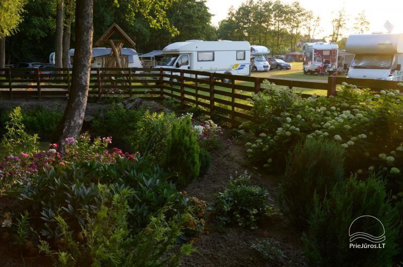 Turistinė stovyklavietė Klaiėdos rajone, Karklėje prie jūros Karklecamp - 6