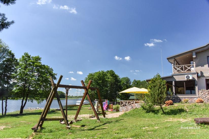"""Sodyba """"Kurėnų užeiga"""" ant ežero kranto Ukmergės r.: kambariai, nameliai, kavinė, plaustas - 2"""