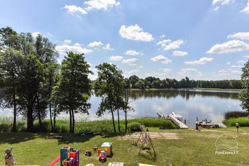 """Sodyba """"Kurėnų užeiga"""" ant ežero kranto Ukmergės r.: kambariai, nameliai, kavinė, plaustas - 3"""