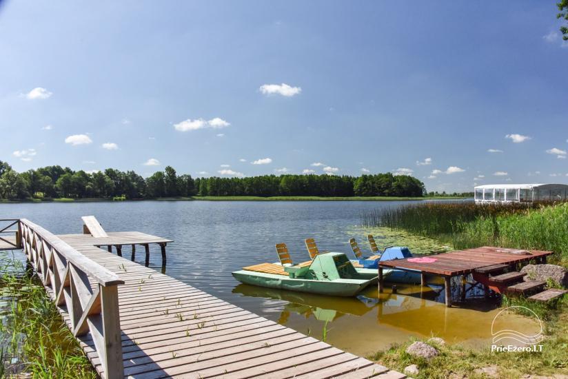 """Sodyba """"Kurėnų užeiga"""" ant ežero kranto Ukmergės r.: kambariai, nameliai, kavinė, plaustas - 5"""