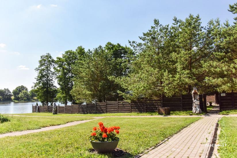 """Sodyba """"Kurėnų užeiga"""" ant ežero kranto Ukmergės r.: kambariai, nameliai, kavinė, plaustas - 7"""