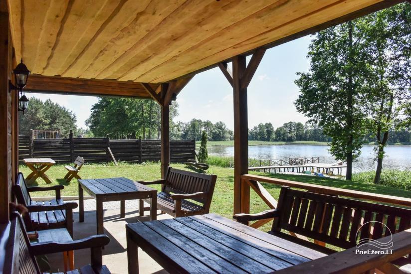 """Sodyba """"Kurėnų užeiga"""" ant ežero kranto Ukmergės r.: kambariai, nameliai, kavinė, plaustas - 16"""