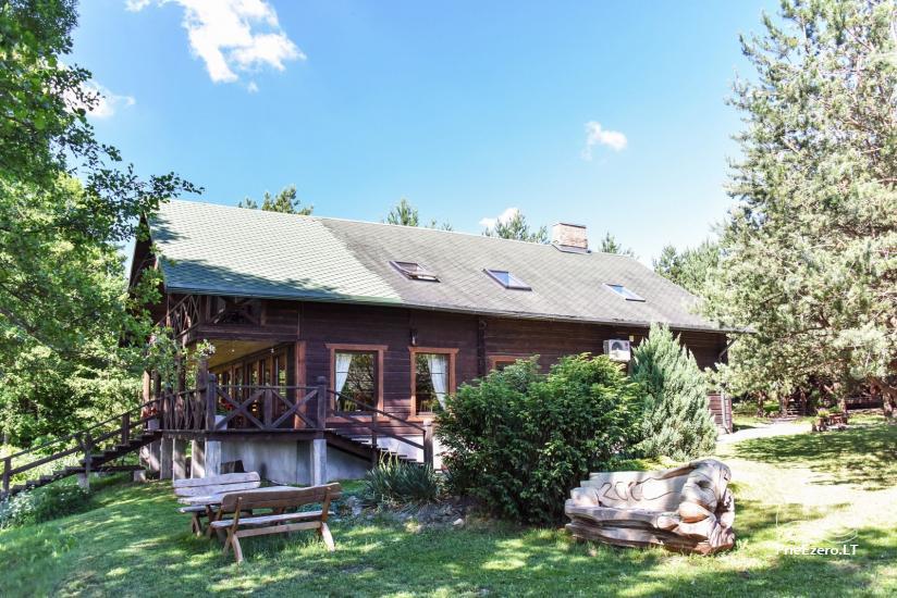 """Sodyba """"Kurėnų užeiga"""" ant ežero kranto Ukmergės r.: kambariai, nameliai, kavinė, plaustas - 8"""