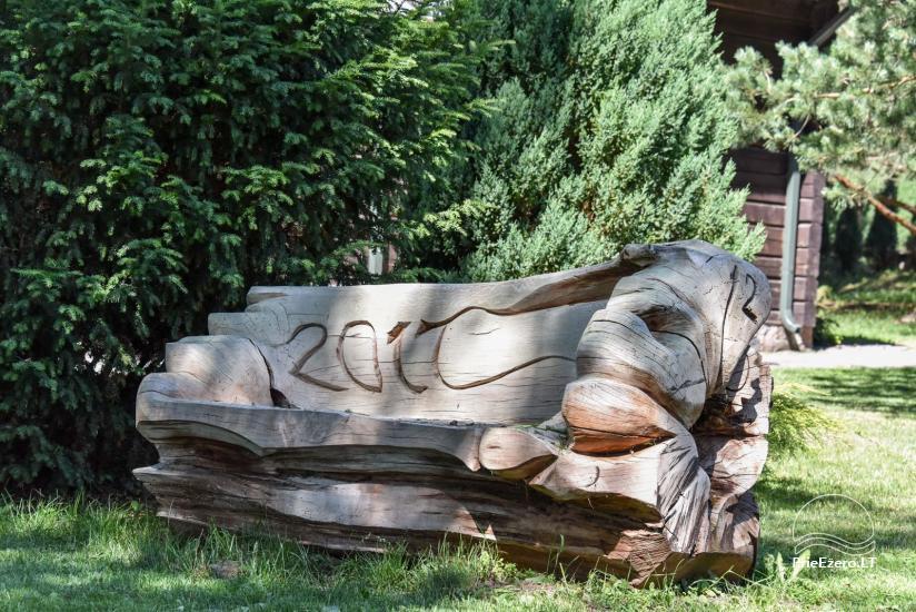 """Sodyba """"Kurėnų užeiga"""" ant ežero kranto Ukmergės r.: kambariai, nameliai, kavinė, plaustas - 45"""