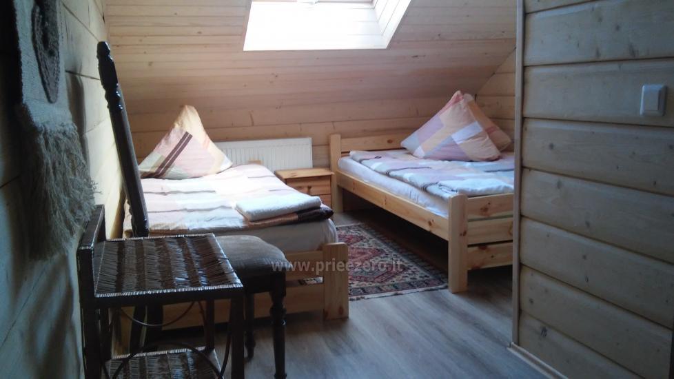 """Sodyba """"Kurėnų užeiga"""" ant ežero kranto Ukmergės r.: kambariai, nameliai, kavinė, plaustas - 11"""