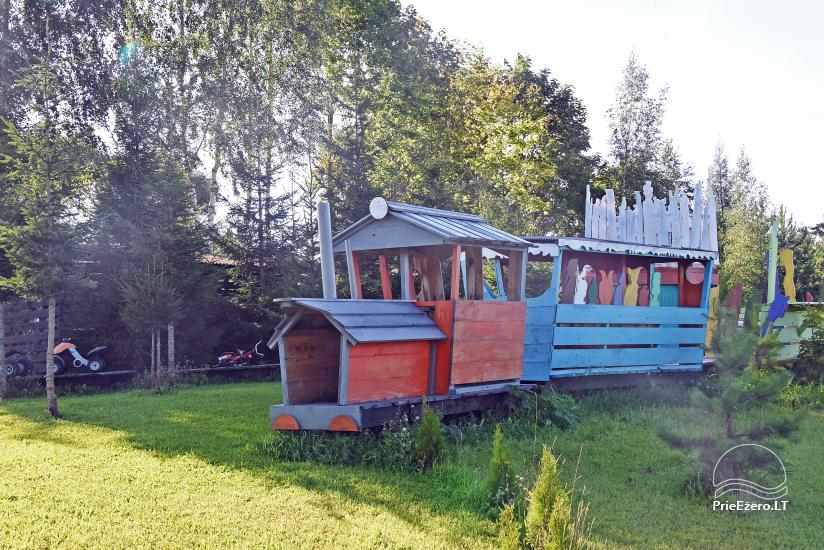 """Sodyba """"KLIUKAI"""" Molėtų rajone – rąstiniai nameliai šeimų poilsiui - 19"""