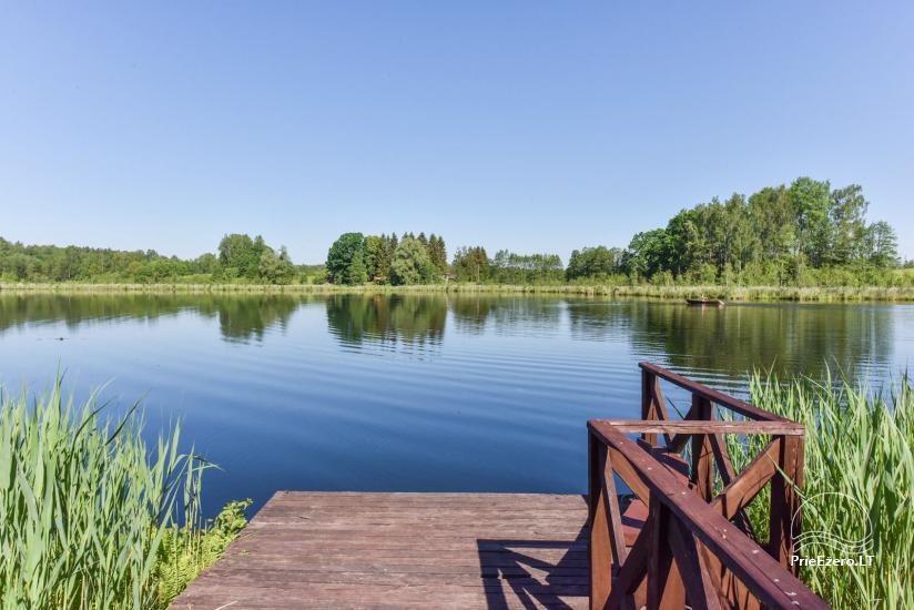 Nameliai ant ežero kranto – sodyba Plaukiojančios Salos Zarasų rajone - 7