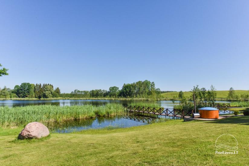 Nameliai ant ežero kranto – sodyba Plaukiojančios Salos Zarasų rajone - 4