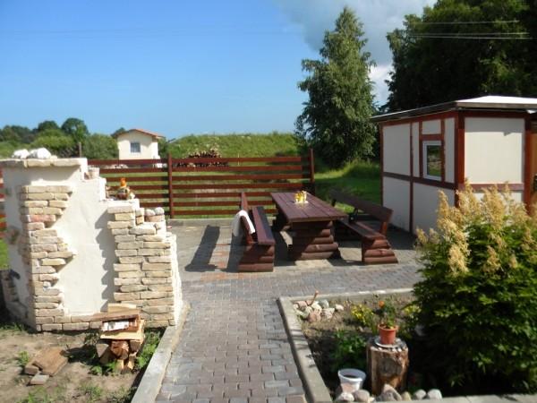Namelių nuoma, kempingas Ventspilio rajone Vinkalni prie upės ir jūros - 6