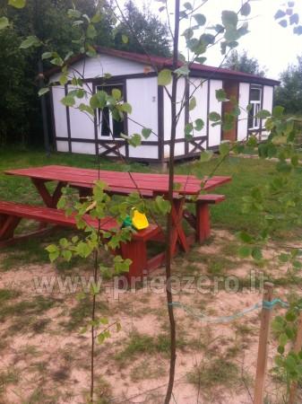 Namelių nuoma, kempingas Ventspilio rajone Vinkalni prie upės ir jūros - 5
