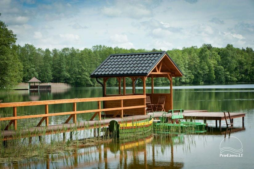 """Sodyba ant ežero kranto """"Vila Viesai"""" šventėms ir poilsiui, 9km iki TRAKŲ - 8"""