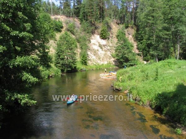 Sodyba Dzūkijos uoga šalia Druskininkų, prie Viršurodukio upelio ir tvenkinio - 35