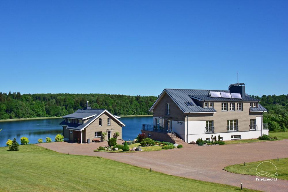 Vila ILGAI – nauja ir šiuolaikiška sodyba prie ežero šalia Trakų - 7