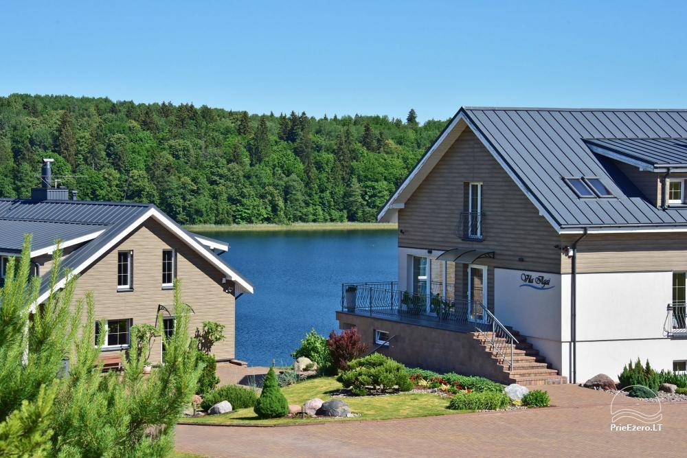 Vila ILGAI – nauja ir šiuolaikiška sodyba prie ežero šalia Trakų - 1